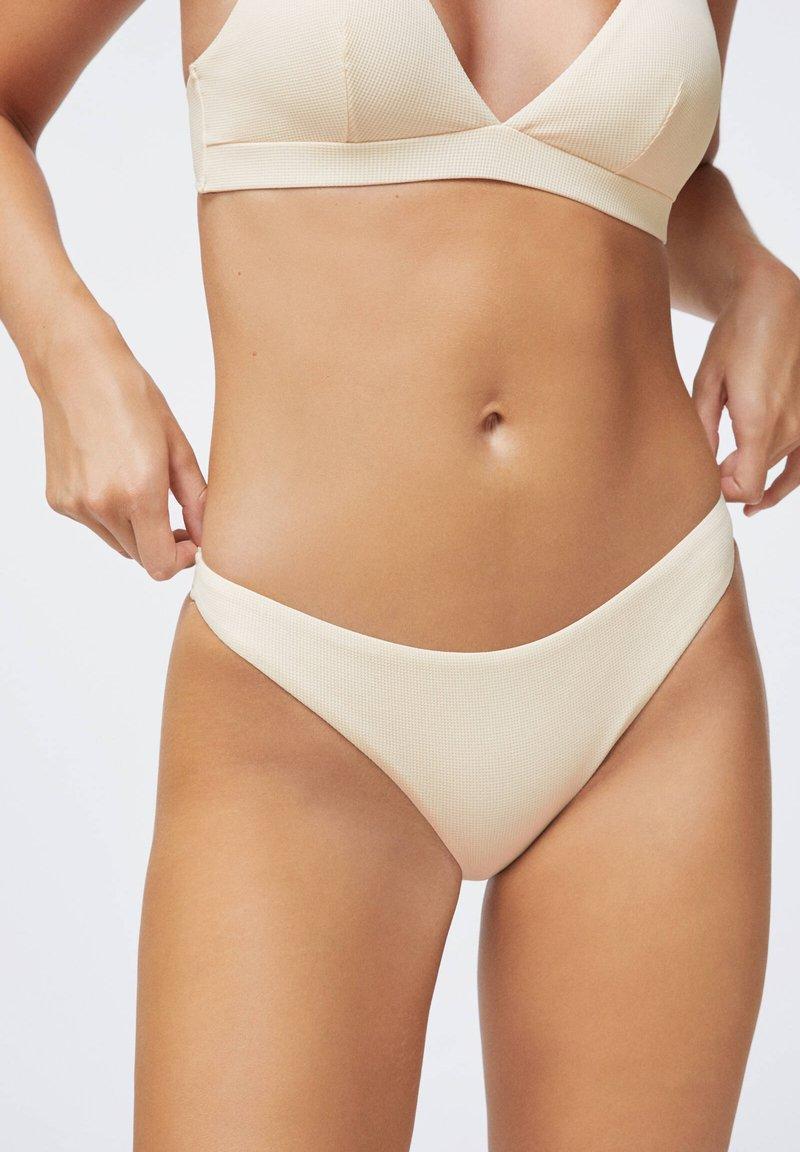 OYSHO - BRAZILIAN  - Bikiniunderdel - white