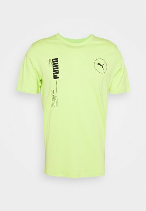 DEPTH TEE - T-shirt con stampa - sharp green