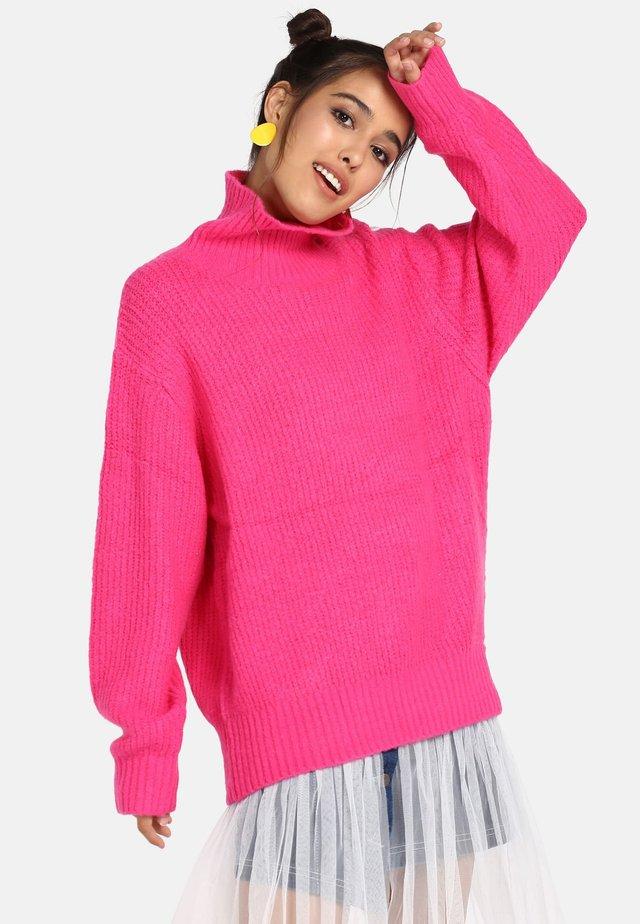 Jumper - neon pink