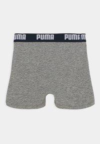 Puma - BOYS BASIC BOXER PRINTED STRIPE 2 PACK - Culotte - ribbon red - 1