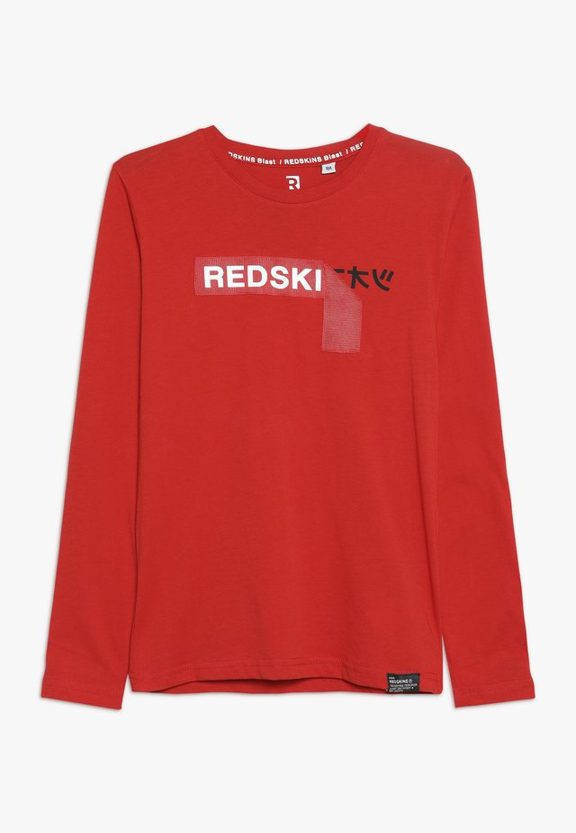 RIDLEY - Long sleeved top - red
