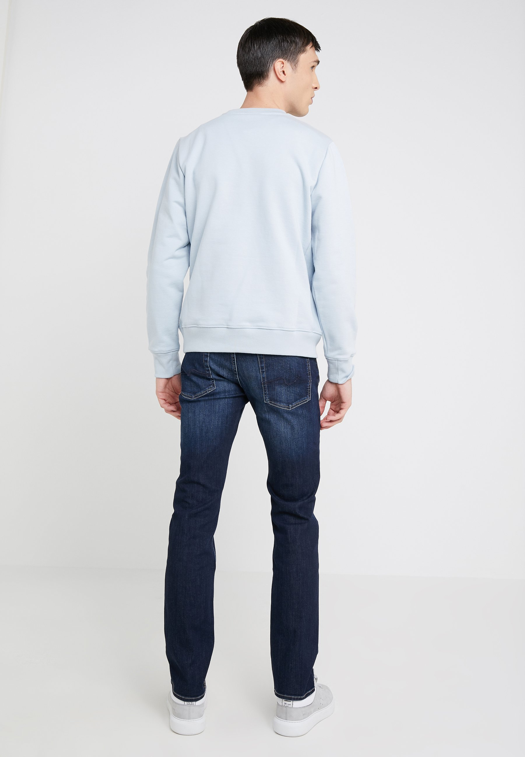 7 For All Mankind My Mid Used - Jeans Slim Fit Dark Blue