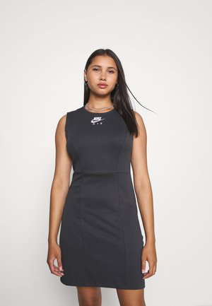 AIR DRESS - Vestido de tubo - smoke grey/black/white