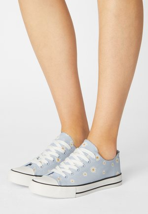 Sneakers basse - lilac/white/yellow