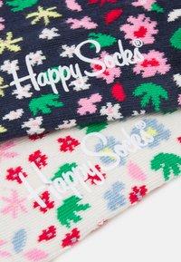 Happy Socks - MINI FLOWER 2 PACK UNISEX - Sokken - multi - 1