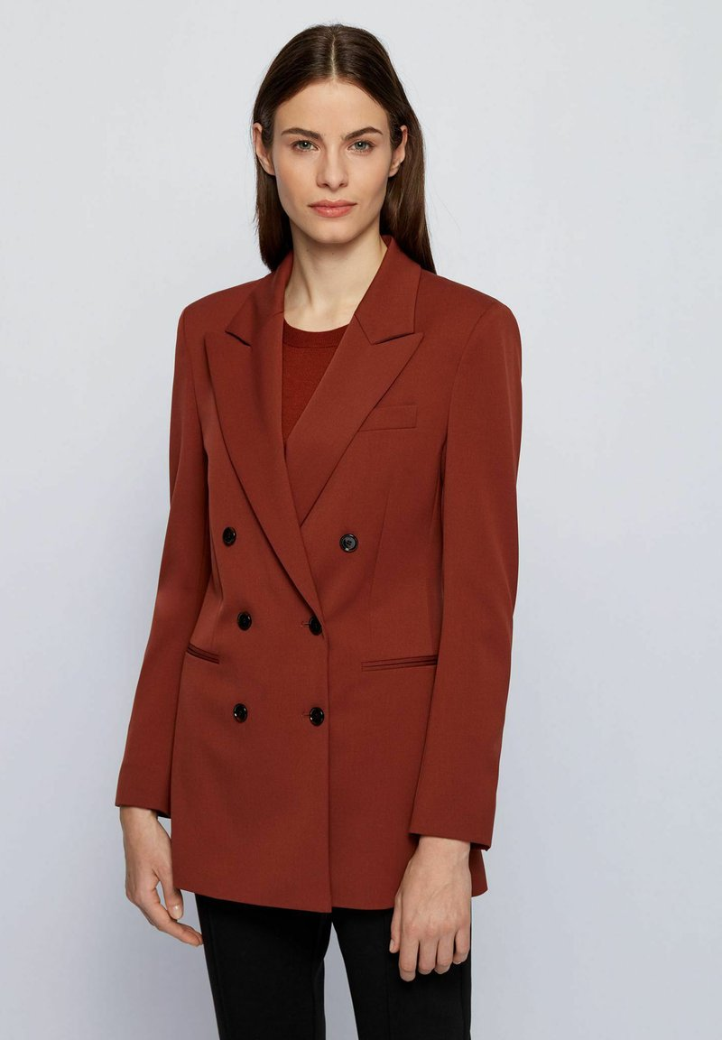 BOSS - Halflange jas - brown
