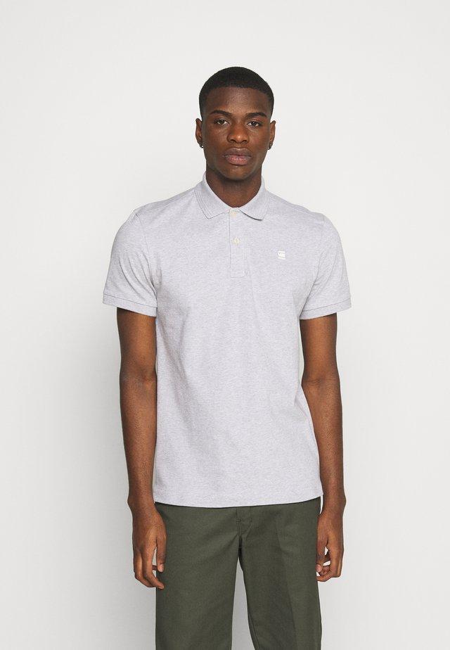 DUNDA SLIM - Polo shirt - grey heather