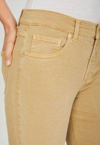 Angels - TAMA - Straight leg jeans - sand - 3