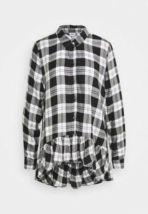 JDYSTAY HIGH LOW - Camicetta - black/white