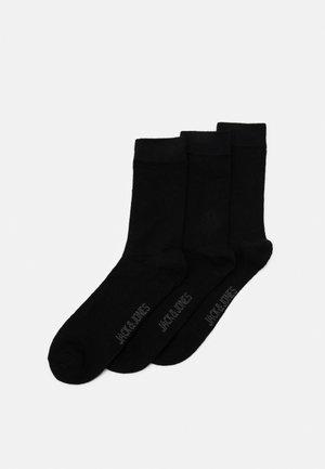 JACWOOL SOCKS 3 PACK - Chaussettes - black