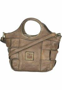 Campomaggi - Handbag - grigio perla - 1