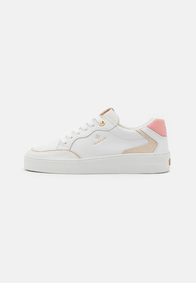 LAGALILLY - Sneakers basse - white/pink