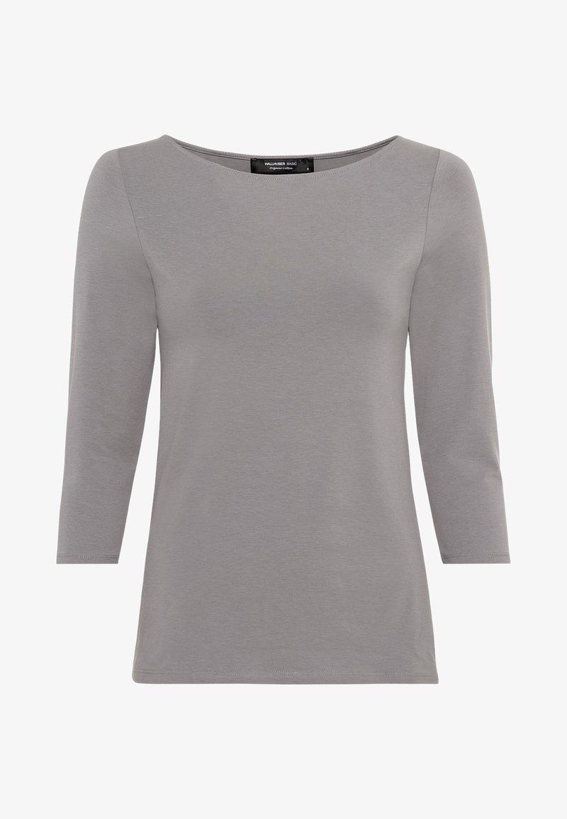 HALLHUBER Langarmshirt - gris moyen/grau fn1R8X