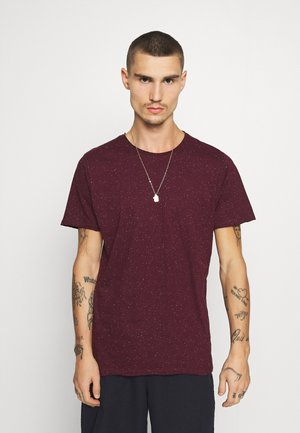 NEPP - Basic T-shirt - burgundy