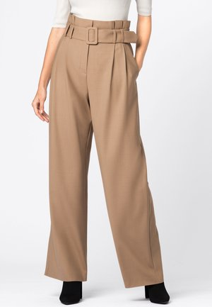 PAPERBAG-HOSE - Trousers - camel