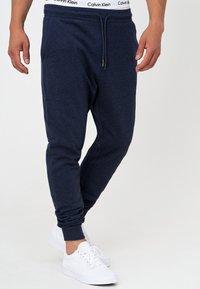 INDICODE JEANS - Pantalon de survêtement - navy mix - 3