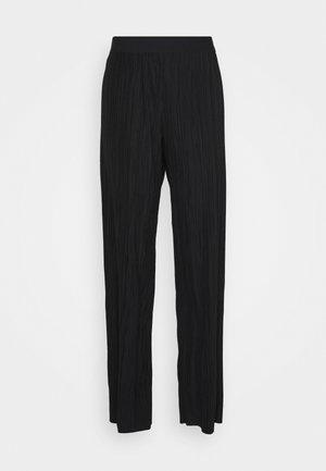 CALILA - Spodnie materiałowe - black
