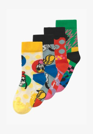DISNEY MICKEY AND FRIENDS UNISEX 4 PACK - Socks - multi-coloured