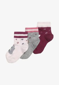 Tommy Hilfiger - BABY SOCK GIFTBOX BABY 3 PACK - Sokker - pink - 2