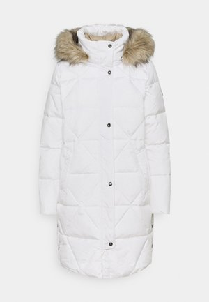 Down coat - winter white