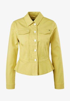 Denim jacket - gelb