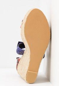 EGO - TINKER - Sandalen met plateauzool - multicolor - 6
