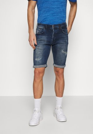 CORVIN - Denim shorts - donny wash
