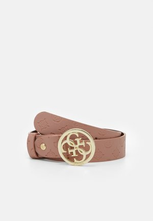 NINNETTE ADJUSTABLE PANT BELT - Cinturón - rosewood