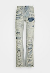 Jaded London - EXTREME RIPPED  - Jeans a sigaretta - blue - 0