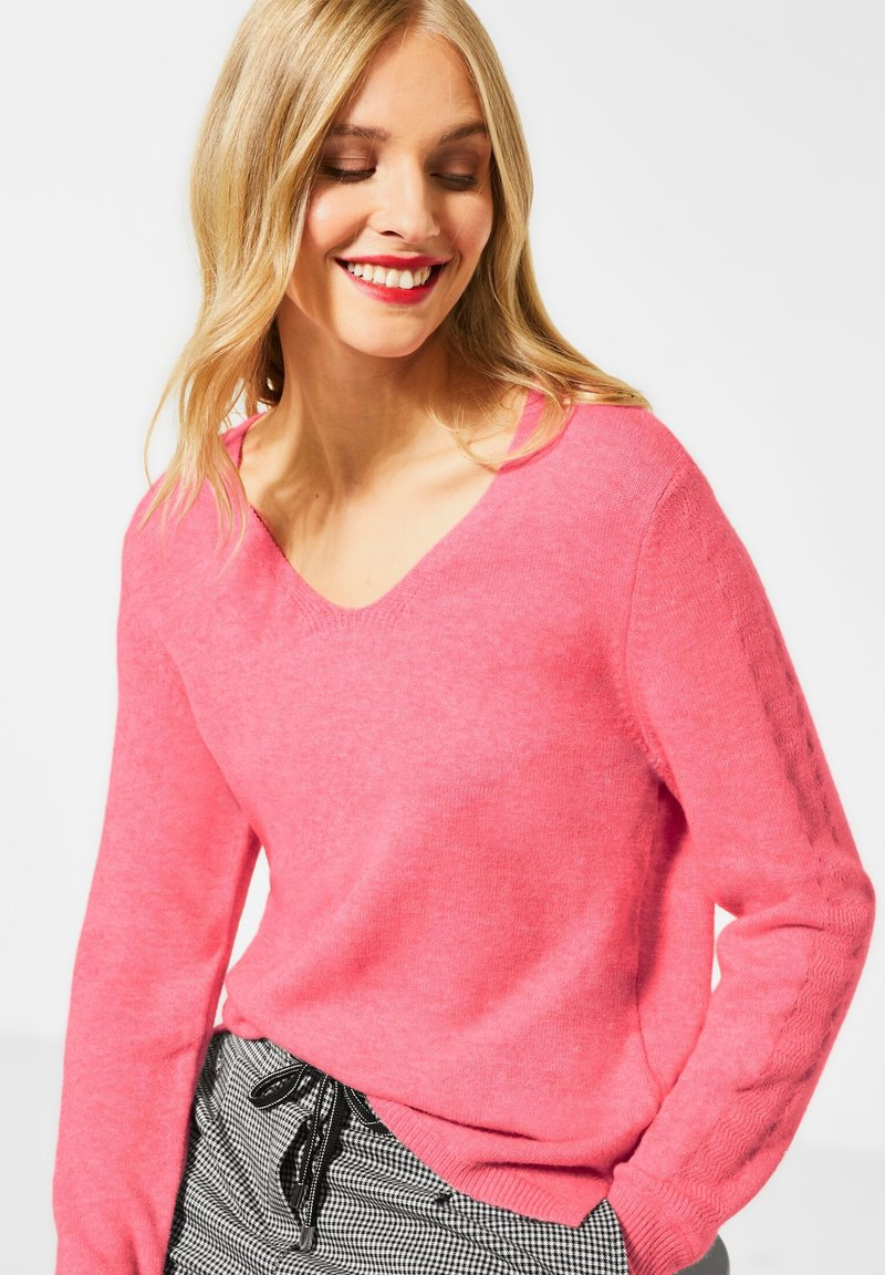 Street One - Jumper - pink