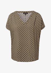 More & More - Print T-shirt - khaki - 2