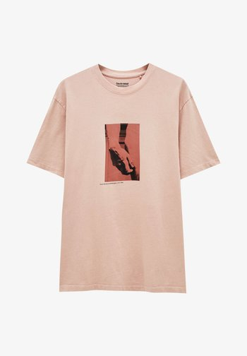 MIT MICHELANGELO-WERK - Printtipaita - pink