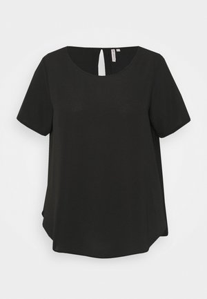 CARLUXINA SOLID - Basic T-shirt - black