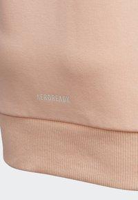 adidas Performance - BRANDED KNIT JACKET - Zip-up hoodie - pink - 6