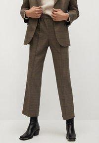 Mango - JAMES - Trousers - braun - 0