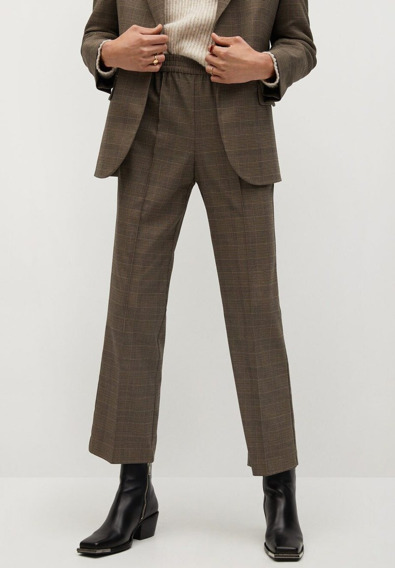 Mango - JAMES - Trousers - braun