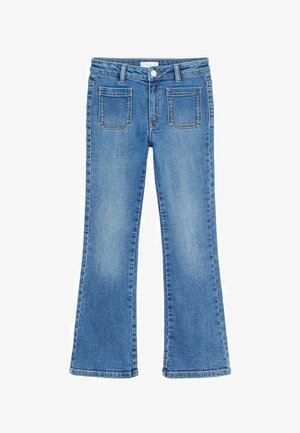 GIGI - Flared Jeans - donkerblauw
