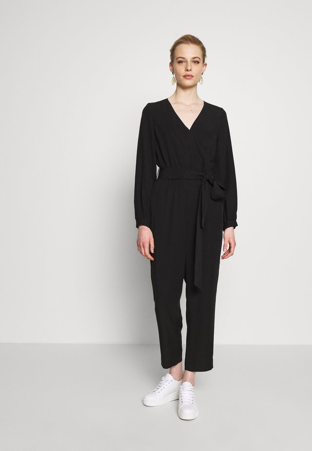 CROPPED  - Overal - black