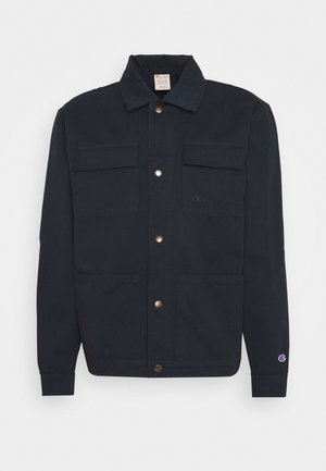 FULL BUTTONED  - Summer jacket - dark blue