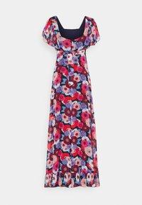 Molly Bracken - LADIES DRESS - Długa sukienka - gerbera/navy - 1