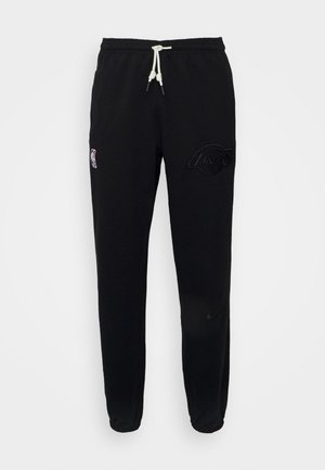 NBA LOS ANGELES LAKERS SHOWTIME STANDART ISSUE PANT - Klubové oblečení - black/pale ivory