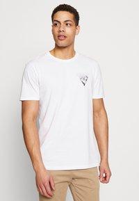 Pier One - T-shirt imprimé - white - 0