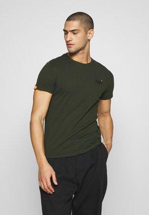 LABEL VINTAGE TEE - Basic T-shirt - surplus goods olive