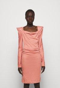 Vivienne Westwood - ELIZABETH DRESS - Jersey dress - dusty pink - 0