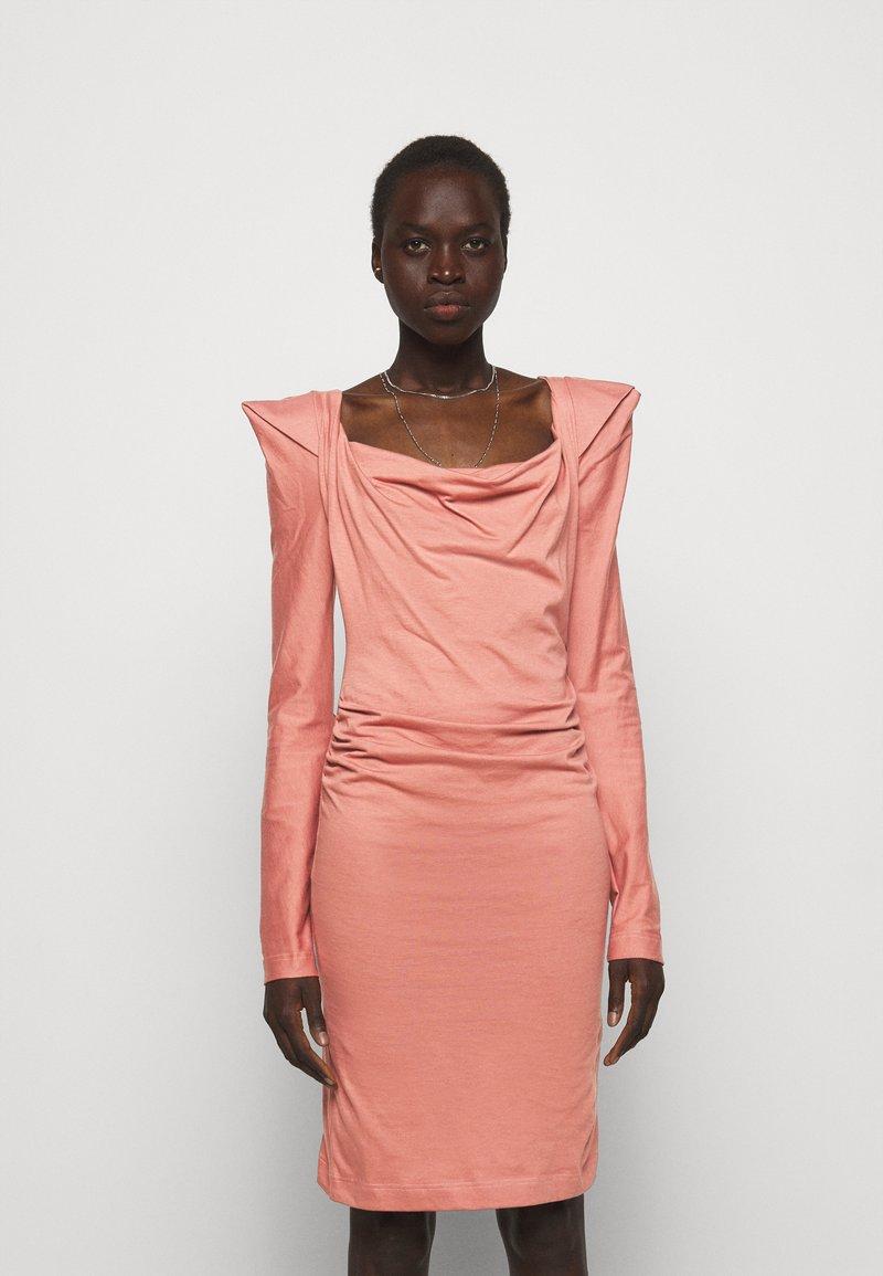 Vivienne Westwood - ELIZABETH DRESS - Jersey dress - dusty pink