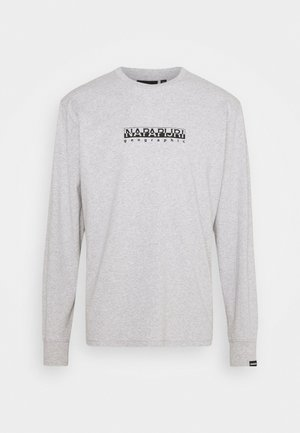 BOX UNISEX - Long sleeved top - light grey mel