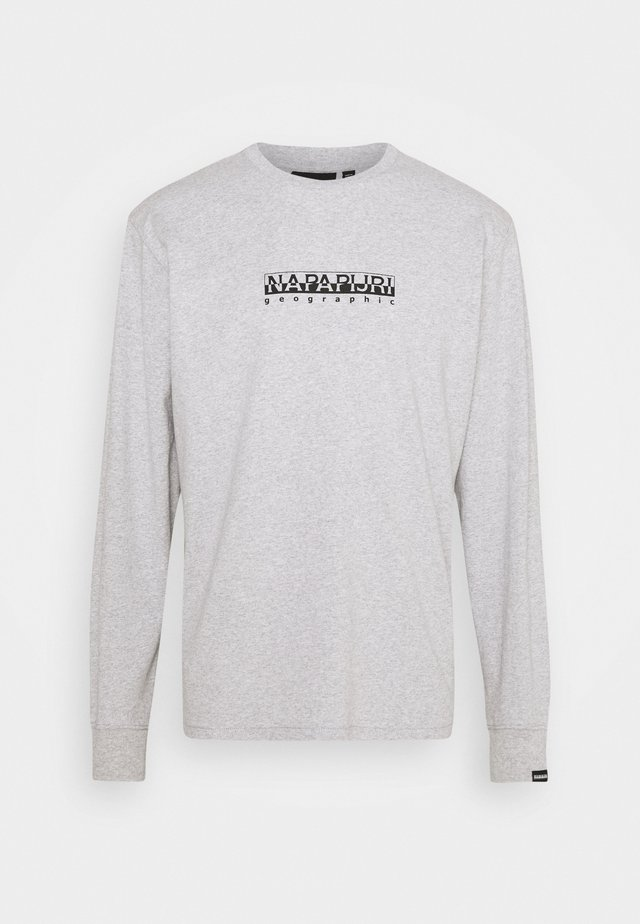 BOX UNISEX - Longsleeve - light grey mel