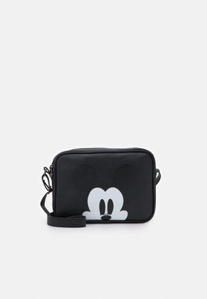 SHOULDER BAG MICKEY MOUSE MOST WANTED ICON - Skuldertasker - black