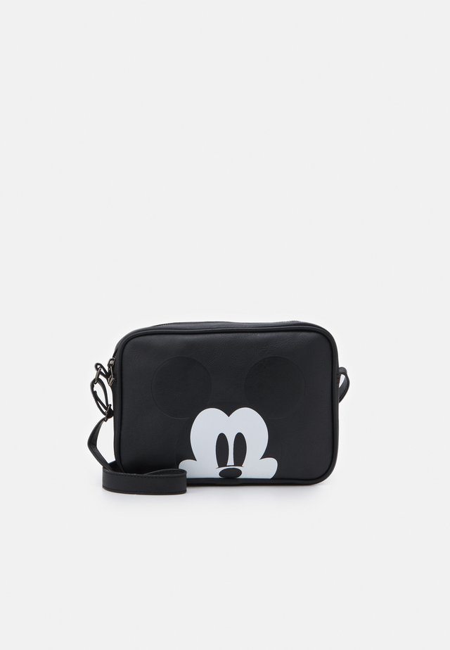 SHOULDER BAG MICKEY MOUSE MOST WANTED ICON - Torba na ramię - black