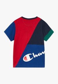 Champion - ROCHESTER TEAM STRIPES CREWNECK - T-shirt con stampa - multicoloured - 1